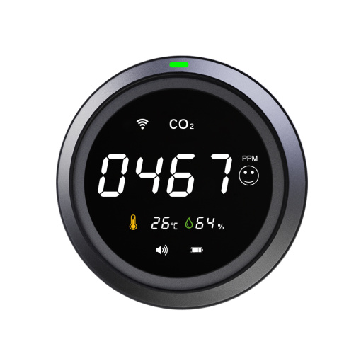 Thermometer and Hygrometer Wi-Fi CO2 Carbon Dioxide Detector