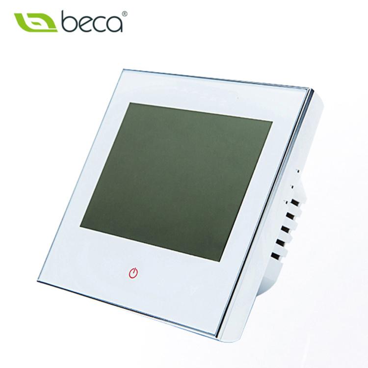 Floor heating temperature controller black 110v boiler thermostat temperature regulator controller