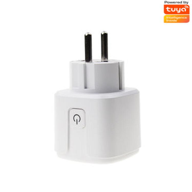 Wifi smart EURO plug 16A ,with tuya app+power monitor