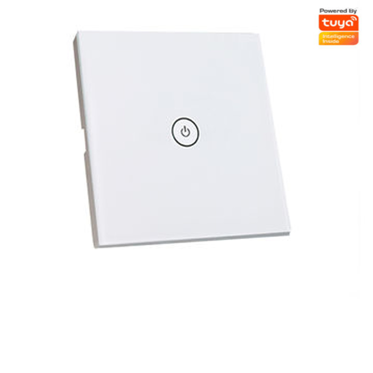 Zigbee 1 Gang Touch Switch Without Neutral Wire Modern With High Quality,Tuya
