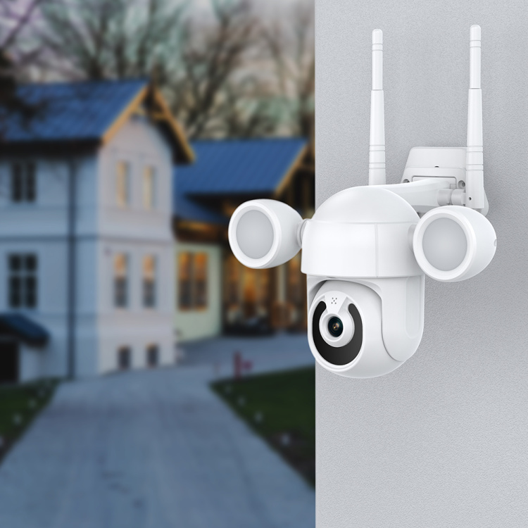 Unistone 2/3MP WIFI Floodlight Speed Dome with AI Human Detection