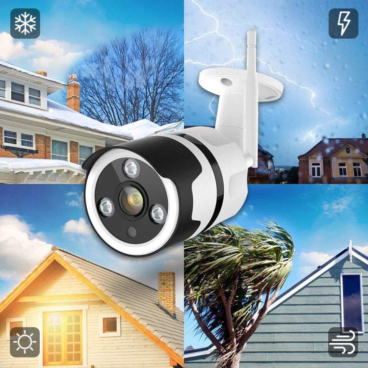 Sucurity Camera IP66 Waterproof Bullet Camera  1080p