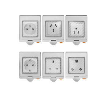 US UK EU South Africa French India Aus Brazil Italy Japan and all country IP55 waterproof smart outdoor wall socket