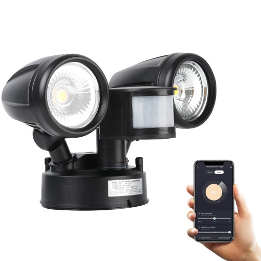 Smart Flood light LED Security Lights Motion Sensor Light Outdoor 20W-30W