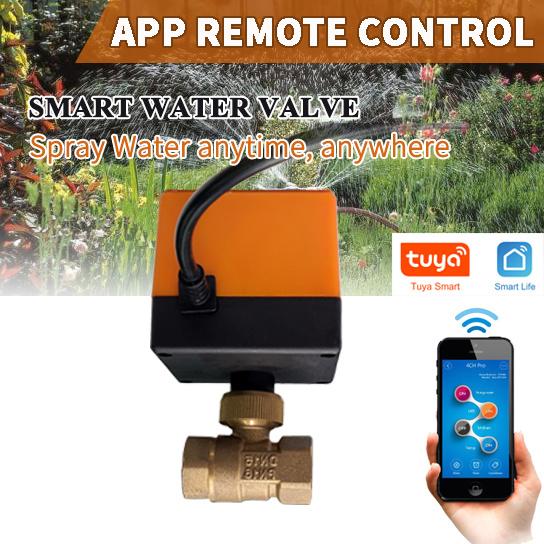 smart remote control water  gas open close valve smart valve DN15-50 500-1340G smart valve