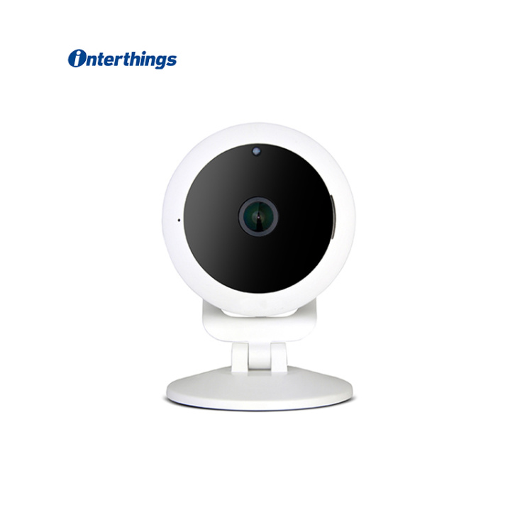 1080P 180-Wide Angle Indoor Wi-Fi Camera
