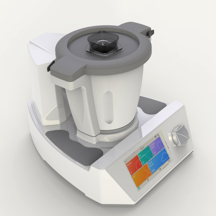Cooking  Robot with Touching Screen and App Wi-Fi Control