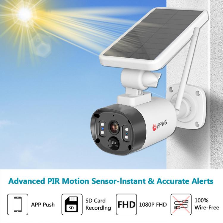 Smart 1080P Solar Camera