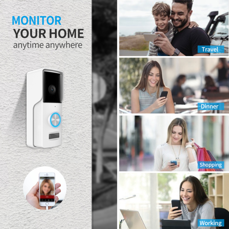 Battery Powered WIFI Doorbell