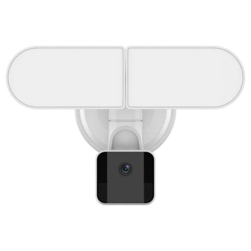 Security Floodlight Camera,  2000-Lumen Brightness,1080P video, 2-Way Audio, IP65 Weatherproof