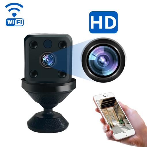 Mini Spy Camera Hidden 1080P Camera, Whalecam Small Security Camera