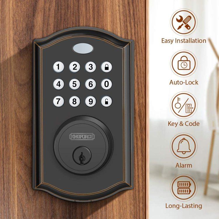 Kingforce Keyless Entry Smart Door Lock