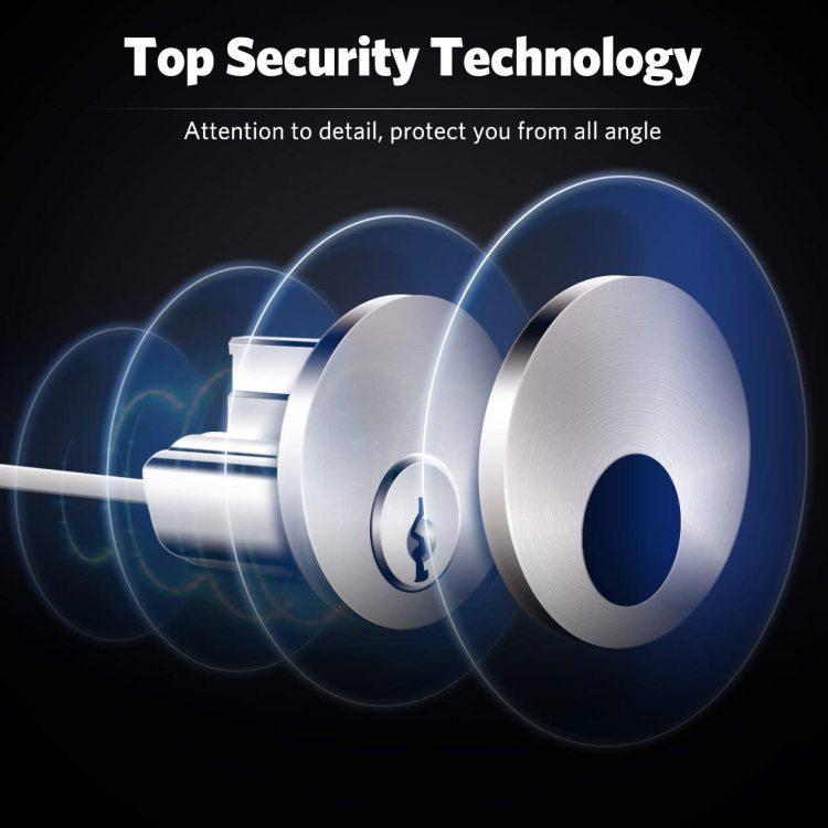Kingforce Password Bluetooth Smart Electronic Door Lock