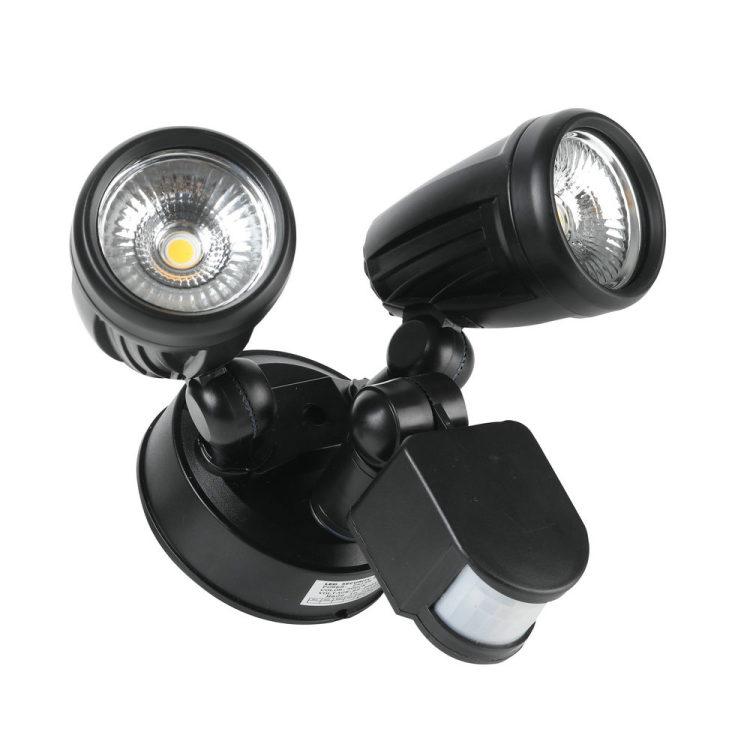 Security Light Motion Sensor Light 25W Dust to Down Waterproof IP65 Outdoor