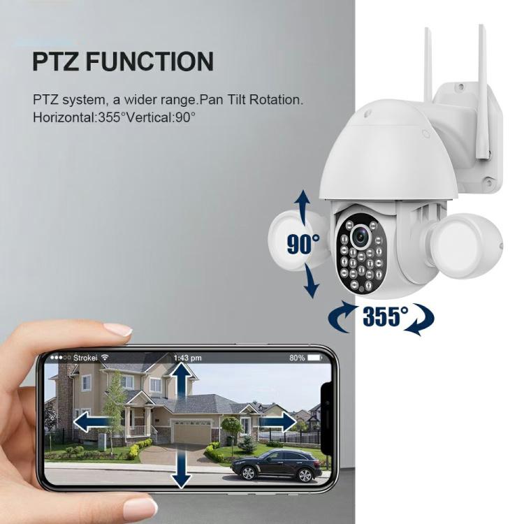 Smart Wireless 3.0MP Floodlight Camera