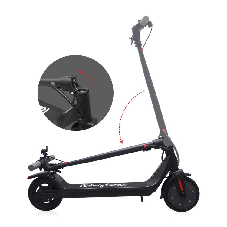 Ridingtimes Electric Scoooter For Adult 350W 10ah Battery