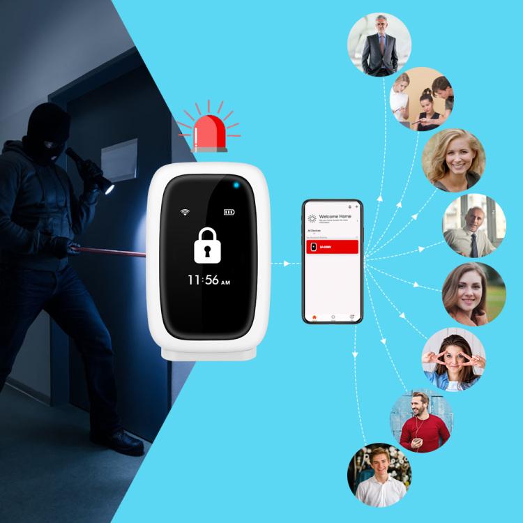 Koochuwah Wifi LCD Alarm Hub