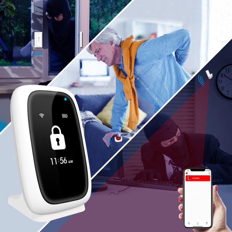 Wifi Wireless Smart Home Full Security Alarm System