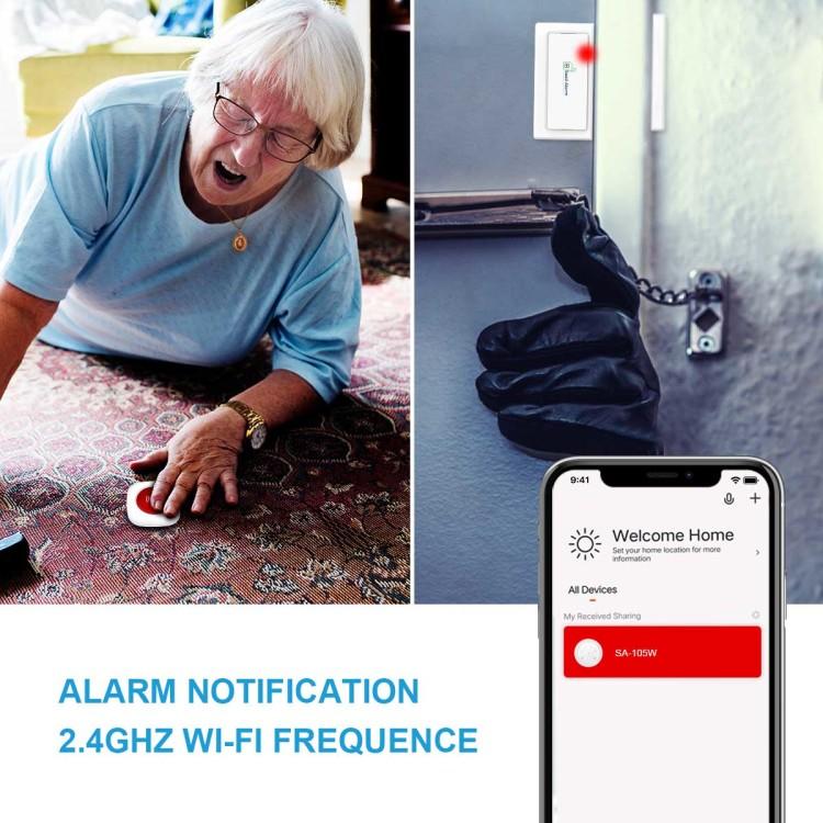 Seed Alarm Wi-Fi Touch Keypad Alarm Hub