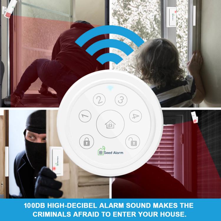Seed Alarm Tuya Wifi Emergency & Security System