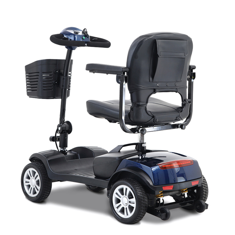 Medium 24V 300W 4 Wheel Electric Adult For Disabled Or Handicapped Mobility Scooter