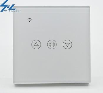 EU UK standard intelligent wall 1-3 WAY switch without zero line, button switch, dimming switch