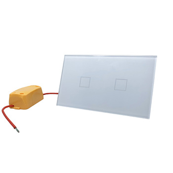 US standard smart wall touch switch button switch, can change the light adjustment, no zero line