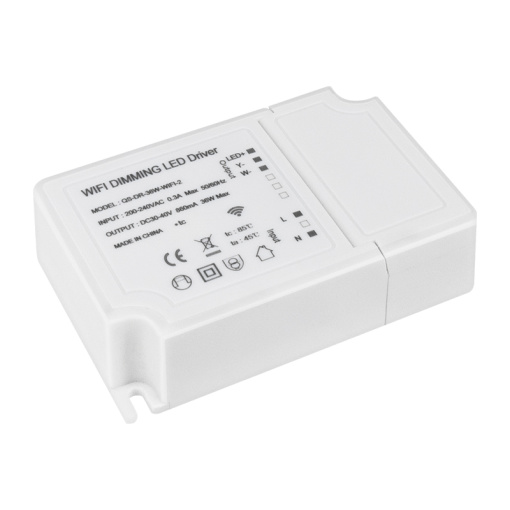 Smart Dimmable LED Driver RGBCW Wi-Fi and Bluetooth
