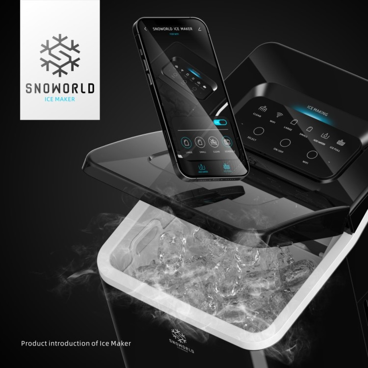 Snoworld Smart Ice Maker