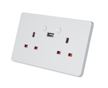 Smart US UK EU South Africa French India Aus Brazil Italy Japan And All Country Wall Socket 1 Way 2 Way With Usb Or Not