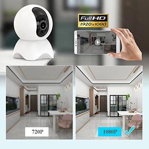 Tuya Smart Life 720P 1080P IP Camera 1M 2M Wireless WiFi Camera Security Surveillance CCTV Camera Baby Moniter_copy