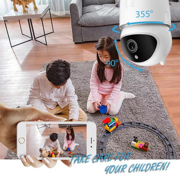 1080P Cute Pan/Tilt IP Camera