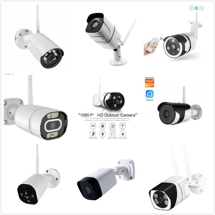 Smart Surveillance Camera Waterproof Bullet Outdoor Camera 1080p with Night Version  IP66