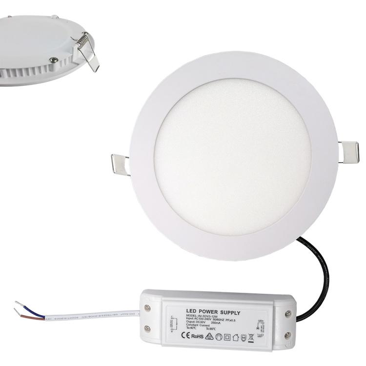 "24W 10"" recessed Smart LED Panel Light"