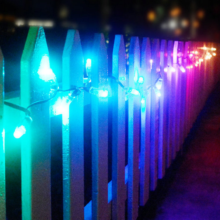 Smart Fairy Light RGB Music Sync Hanging Twinkle Lights for Indoor Outdoor Decor