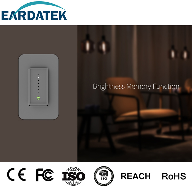 US Single Pole/3 Way Smart Wi-Fi Dimmer Switch Neutral Required