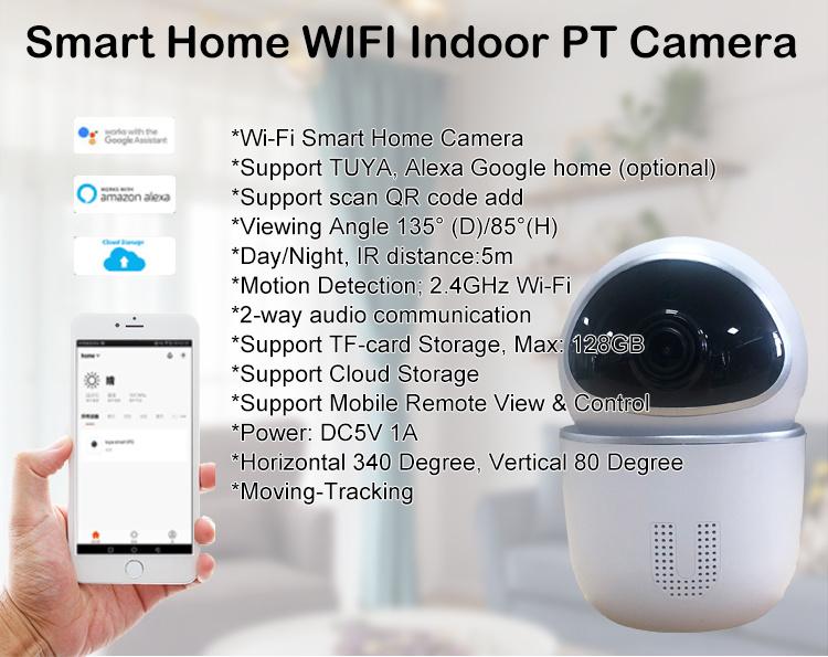 Hot Sale  Smart Full HD Wireless IP Camera