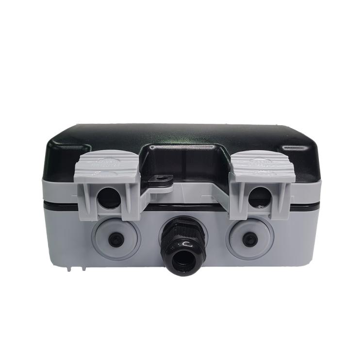 IP 66 double gang waterproof socket