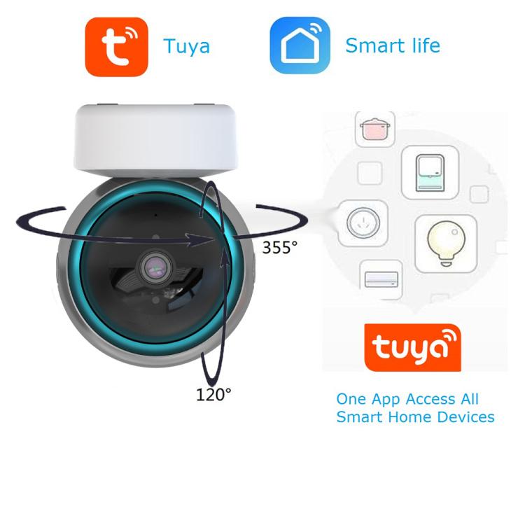 Smart Life 1080P IP Camera 1M 2M Wireless Wi-Fi Camera Security Surveillance CCTV Camera Baby Monitor