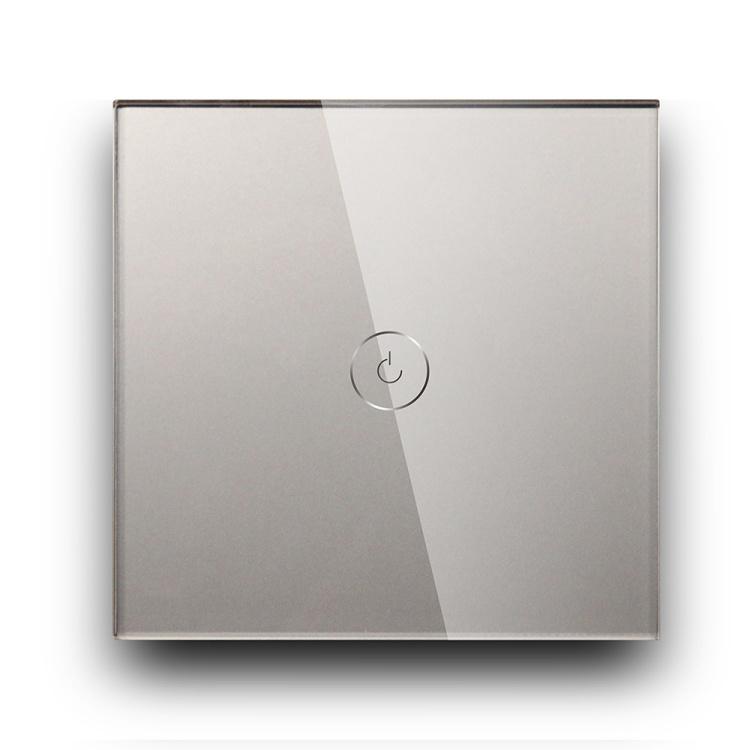 Smart 1 Gang 10A 1000W White/Gold/Black/Grey Wifi Light Switch