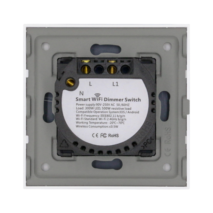 Smart Wi-Fi Light Dimmer Switch