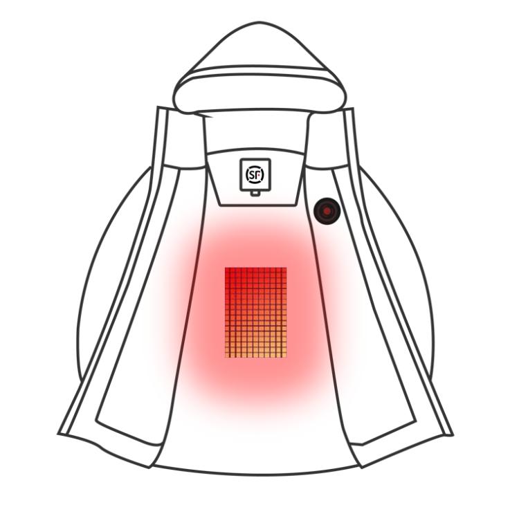 Heatable Vest/ Heatable Down Jacket