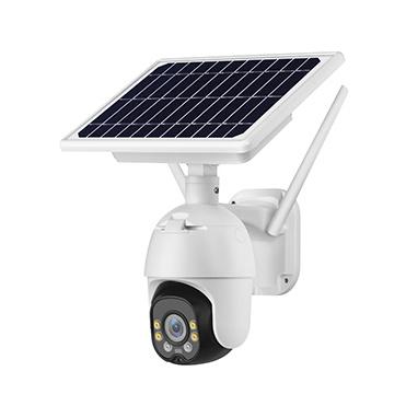 Unistone 2MP 8W 4G & WIFI Wireless Solar PTZ Smart Speed Dome Camera