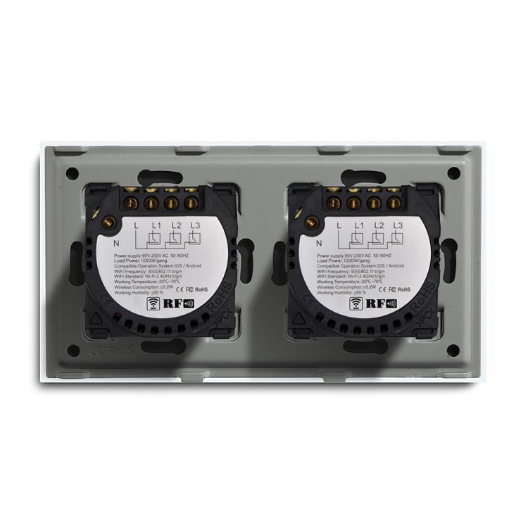 157mm 6 Gang Smart Wifi Lght Switch