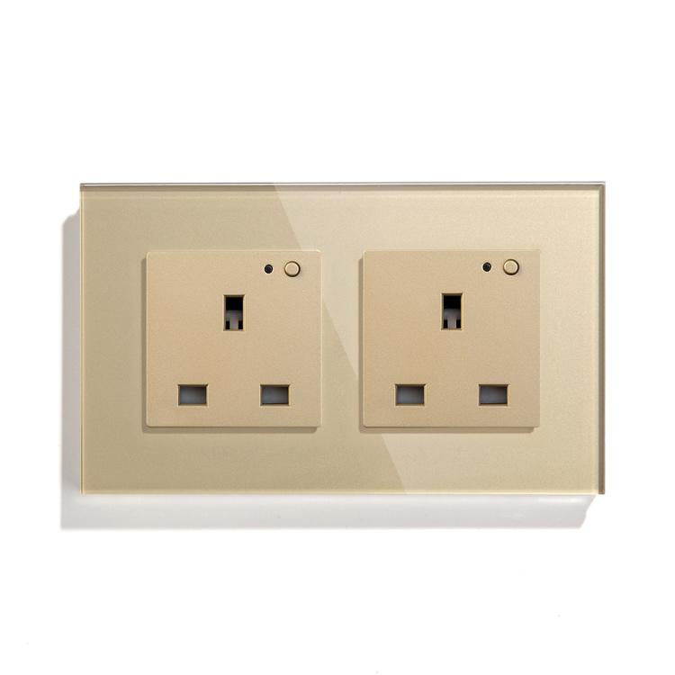 146mm Double UK Wi-Fi Socket