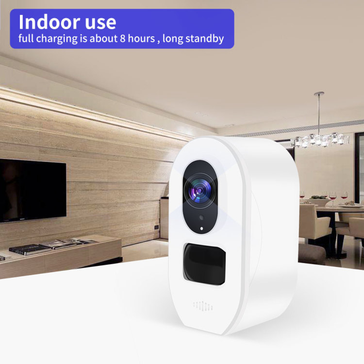Outdoor IP66 Wireless 1080P IP Security Low Power Solar Battery Wi-Fi Smart Camera
