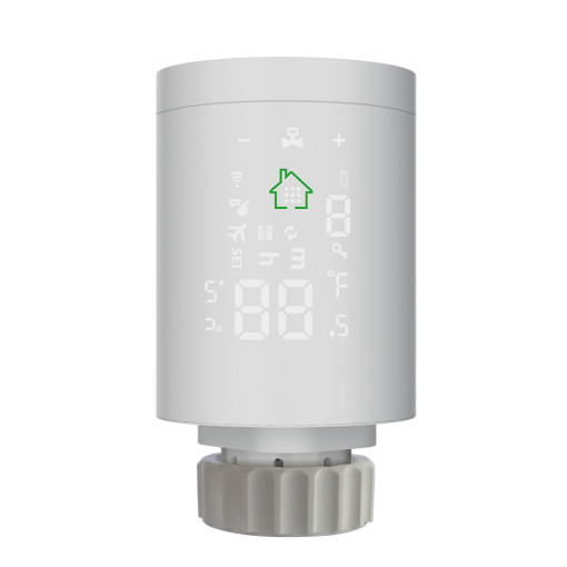 New Mini Wi-Fi Radiator Actuator Smart Programmable Thermostat Heater Temperature Controller Heating Accurate Battery Pow