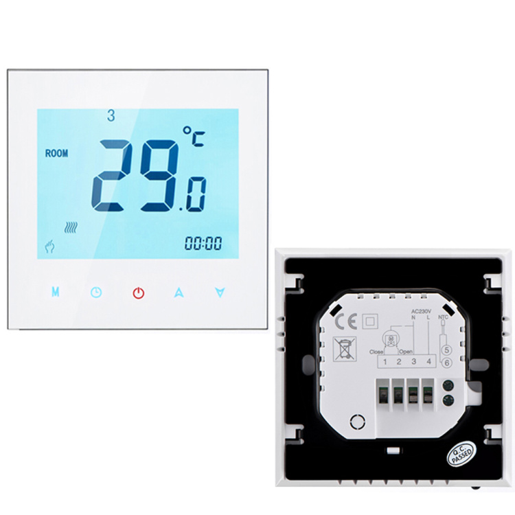 BECA indoor digital touch screen for electric heating system floor heating controller wireless WIFI thermostat