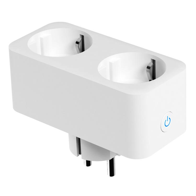 Zigbee EU Dual Smart Socket