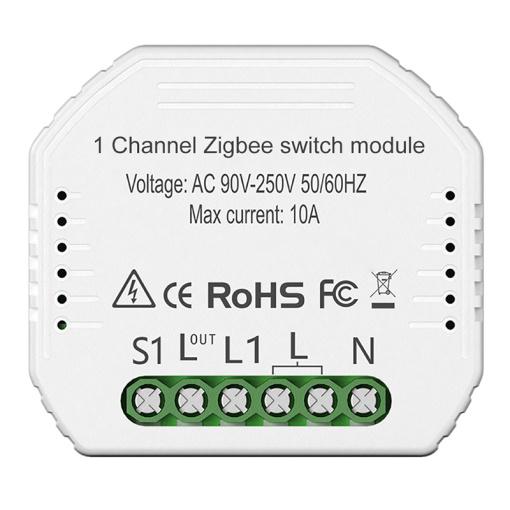 Zigbee 1 Way Switch Module